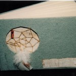 Dream catcher blank journal