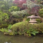 Peaceful garden in Narita