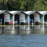 Boat docks on Lake Minnewashta